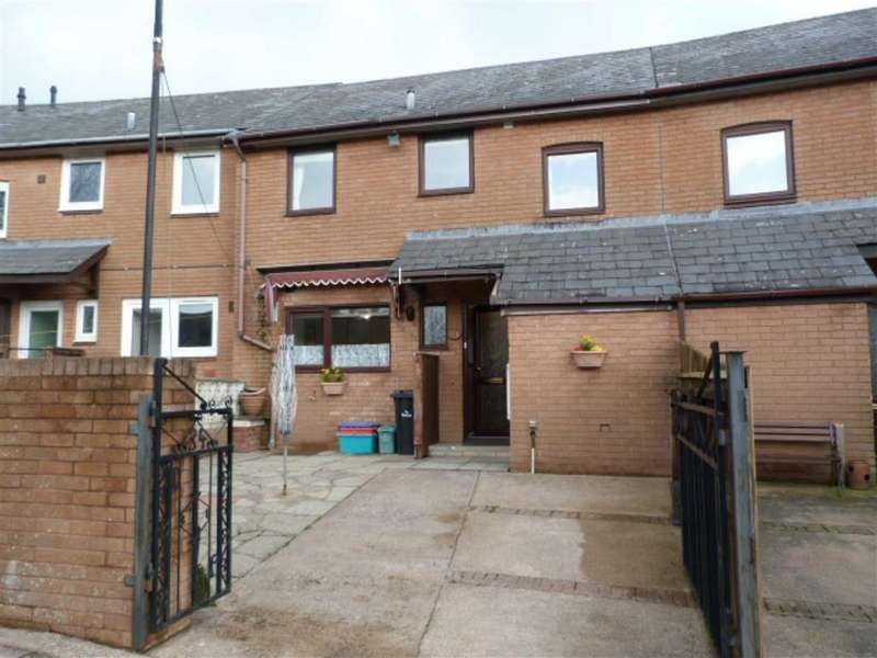 3 Bedrooms Terraced House for sale in Lon Glanyrafon, Vaynor, Newtown