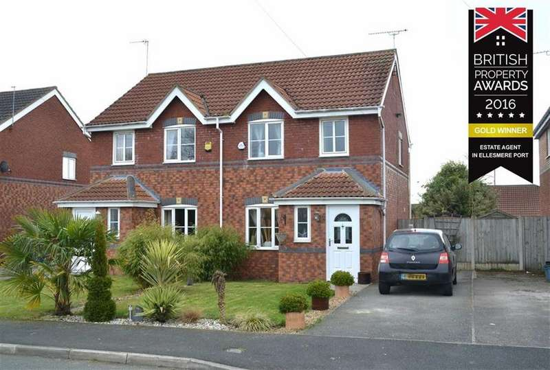 3 Bedrooms Semi Detached House for sale in Harrow Road, Ellesmere Port