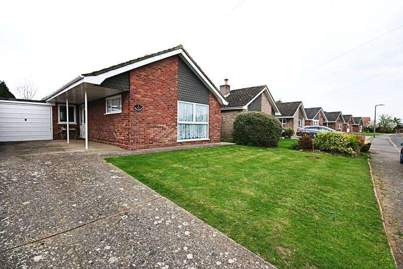3 Bedrooms Detached Bungalow for sale in Goldsmith Way, Pulham St. Mary, Diss