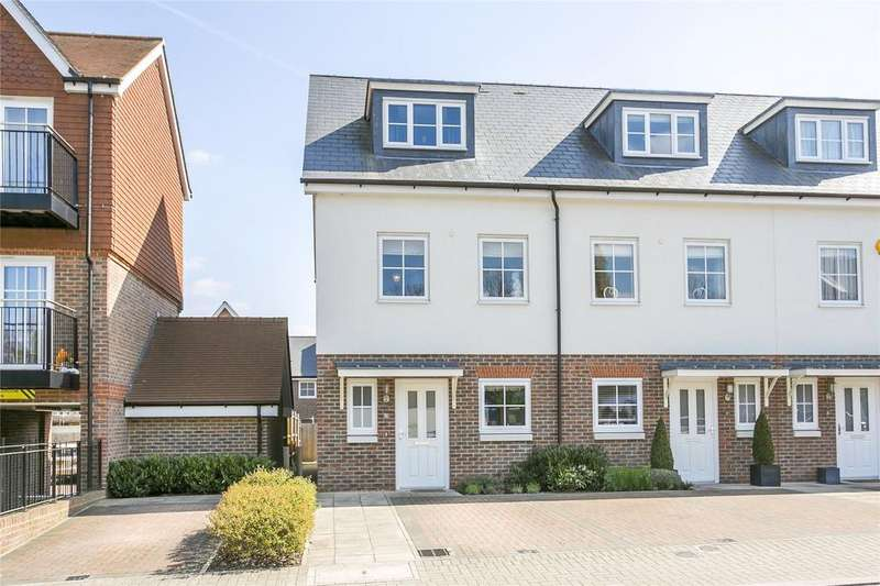 3 Bedrooms End Of Terrace House for sale in Campion Square, Dunton Green, Sevenoaks, Kent
