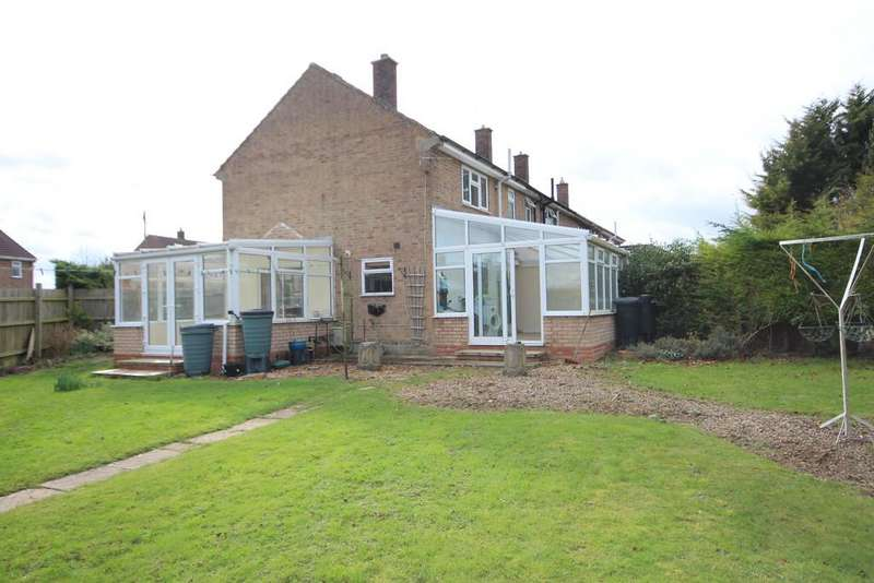 2 Bedrooms End Of Terrace House for sale in Locks Close, Greetham