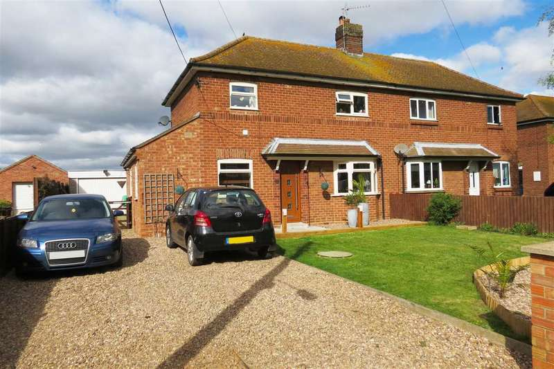 3 Bedrooms Semi Detached House for sale in Mount Lane, Kirkby La Thorpe
