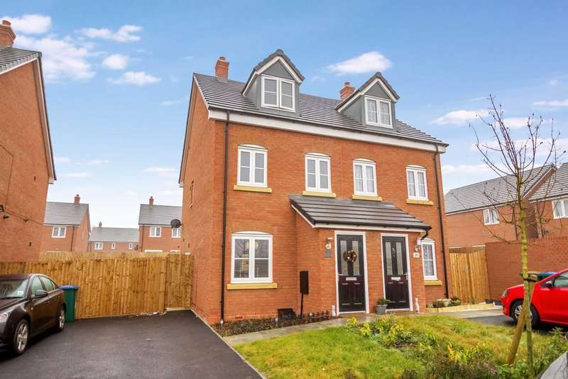 3 Bedrooms Semi Detached House for sale in Lanchbury Avenue, Coventry