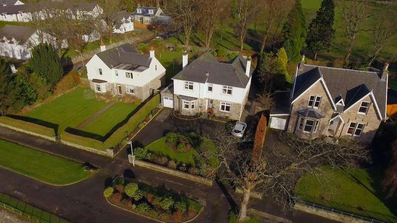 4 Bedrooms Detached House for sale in Clyde View, Dumbarton, West Dunbartonshire, G82 4AG