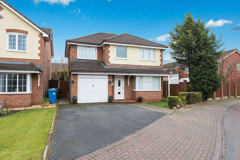 4 Bedrooms Detached House for sale in Dorchester Park, Runcorn
