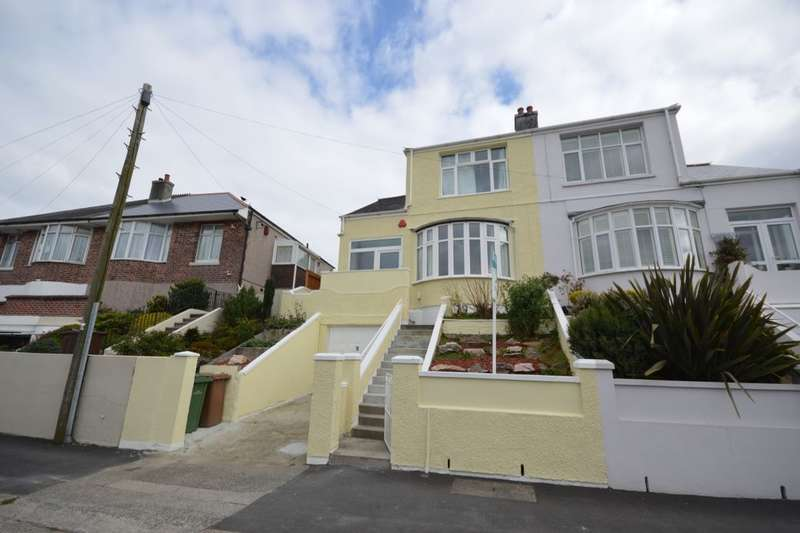 3 Bedrooms Semi Detached House for sale in Weston Park Road, Plymouth, PL3