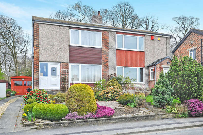 3 Bedrooms Semi Detached House for sale in Hallowes Park Road, Cullingworth, Bradford, BD13