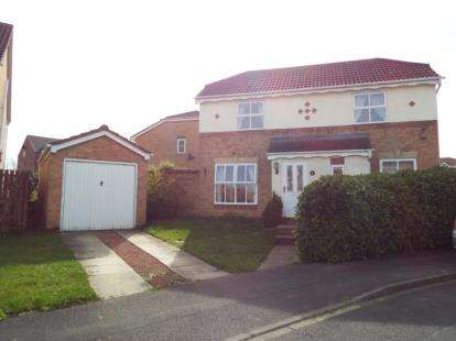 3 Bedrooms Detached House for sale in Cookson Way, Brough With St. Giles, Catterick Garrison, North Yorkshire