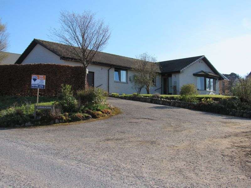 4 Bedrooms Detached Bungalow for sale in 4 Bedroom family home finished to high standard Culcharry, Cawdor