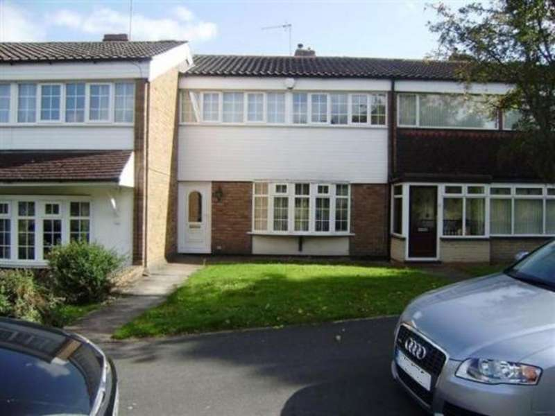 3 Bedrooms Terraced House for sale in PINGLE CLOSE, WEST BROMWICH, WEST MIDLANDS, B71 3ET