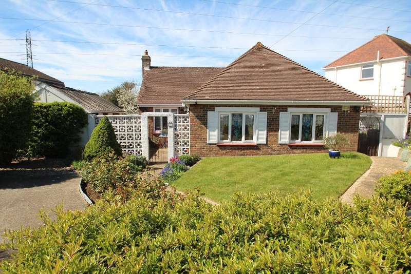 3 Bedrooms Detached Bungalow for sale in Brasslands Drive, Portslade, East Sussex, BN41 2PN