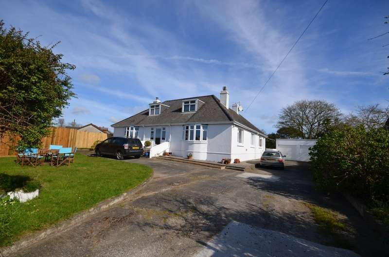 4 Bedrooms Detached Bungalow for sale in Trebarvah Road, Constantine