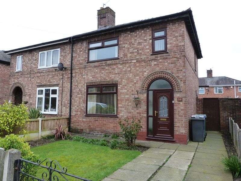 3 Bedrooms Semi Detached House for sale in Tilston Avenue, Warrington