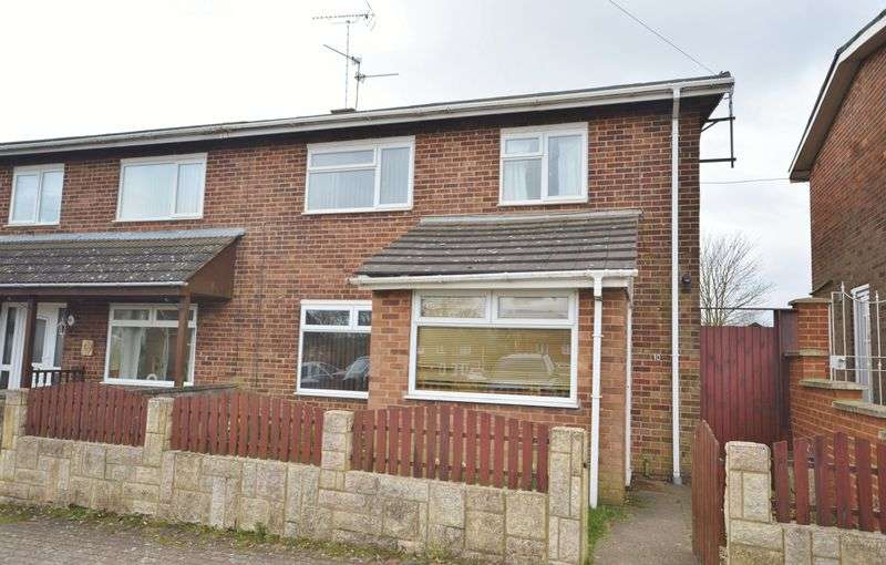 3 Bedrooms Semi Detached House for sale in Clovelly Court, Corby