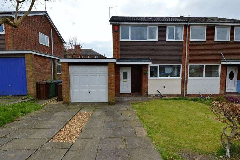 3 Bedrooms Semi Detached House for sale in Cromwell Road, Whitefield, Manchester