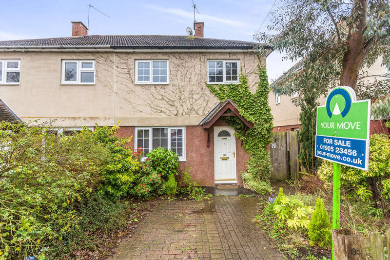 2 Bedrooms Semi Detached House for sale in Drake Avenue, Worcester, WR2