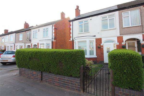 3 Bedrooms End Of Terrace House for sale in Glendower Avenue, Chapelfields, Coventry
