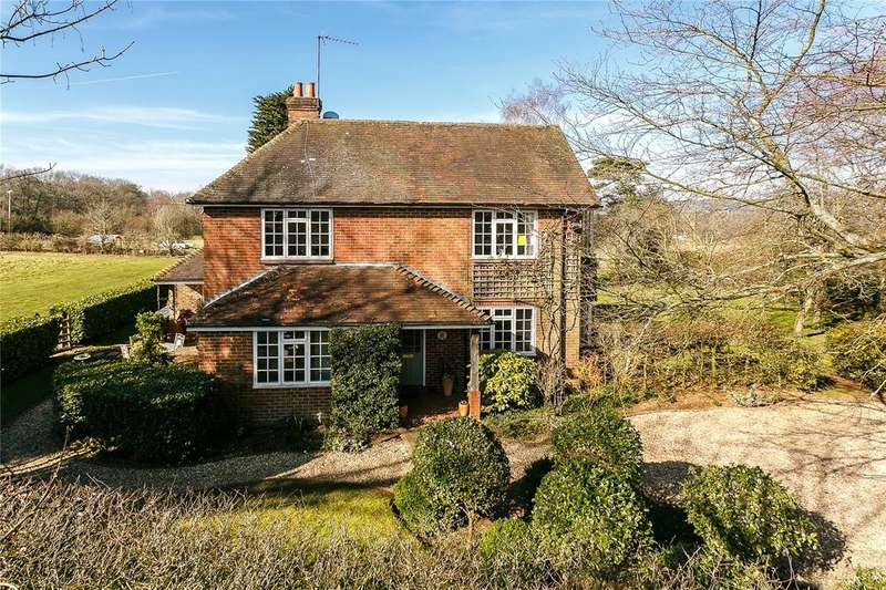 4 Bedrooms Detached House for sale in Farley Green, Albury, Guildford, Surrey