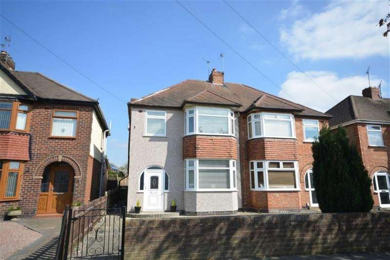 3 Bedrooms Semi Detached House for sale in Newdigate Road, Bedworth