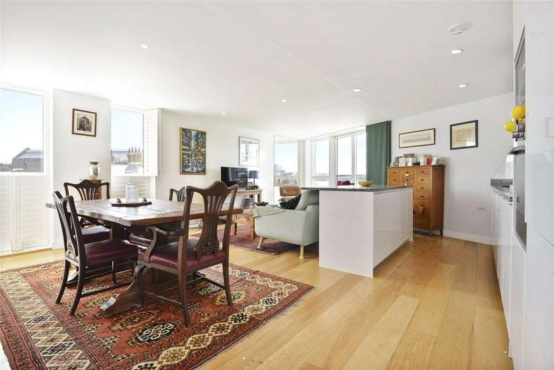 3 Bedrooms Flat for sale in Banning Street, Greenwich, London, SE10