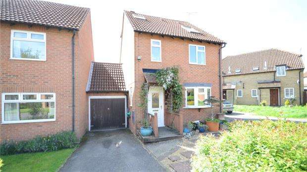 3 Bedrooms Link Detached House for sale in Sharpthorpe Close, Lower Earley, Reading