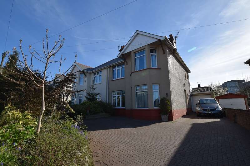 3 Bedrooms Semi Detached House for sale in Thornhill Road, Llanishen, Cardiff. CF14 6PF