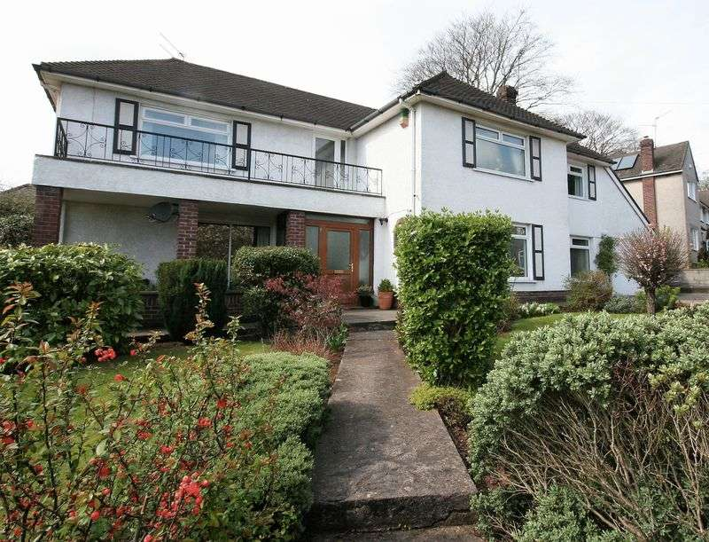 4 Bedrooms Detached House for sale in Verlands Close, Cardiff