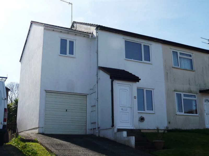 3 Bedrooms Semi Detached House for sale in Prince Charles Close, Exmouth
