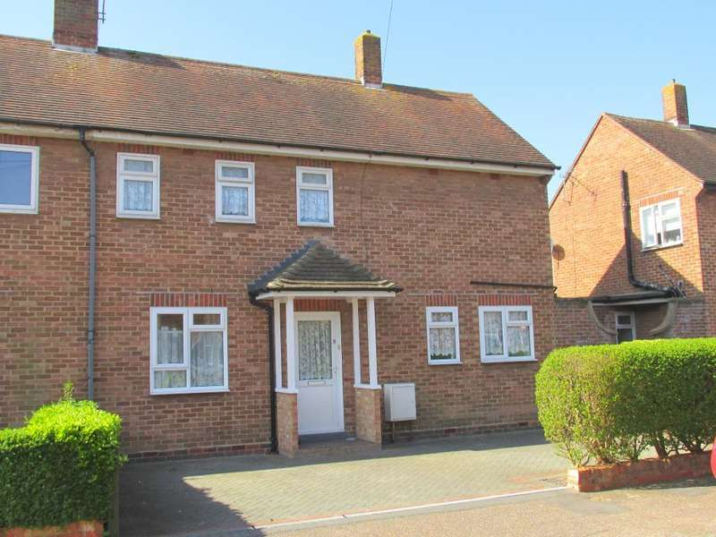 3 Bedrooms Semi Detached House for sale in Hatherleigh Close, Bognor Regis, West Sussex, PO21 5JA