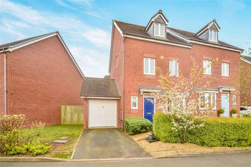 4 Bedrooms Semi Detached House for sale in Cleobury Meadows, Cleobury Mortimer, Kidderminster, Shropshire