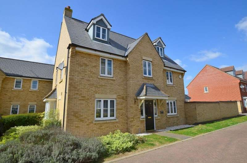 5 Bedrooms Detached House for sale in Bull Drive, Kesgrave