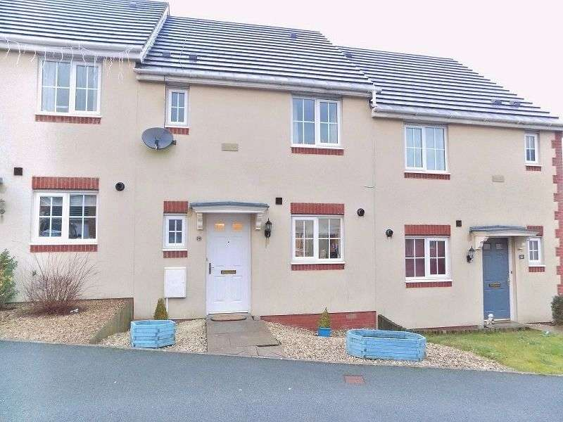 3 Bedrooms Terraced House for sale in Heol Y Fronfraith Fawr , Broadlands, Bridgend. CF31 5FR
