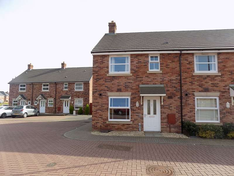 3 Bedrooms End Of Terrace House for sale in Llys Y Dderwen , Coity, Bridgend. CF35 6DE