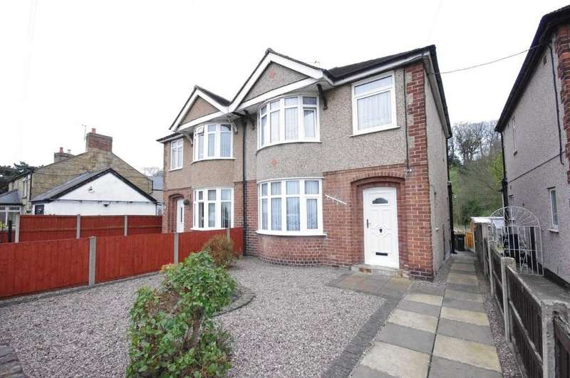 3 Bedrooms Semi Detached House for sale in Main Road, Ffynnongroyw