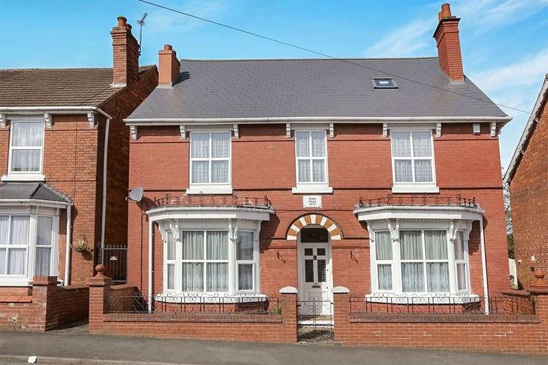 4 Bedrooms Detached House for sale in Park Street South, Wolverhampton, WV2
