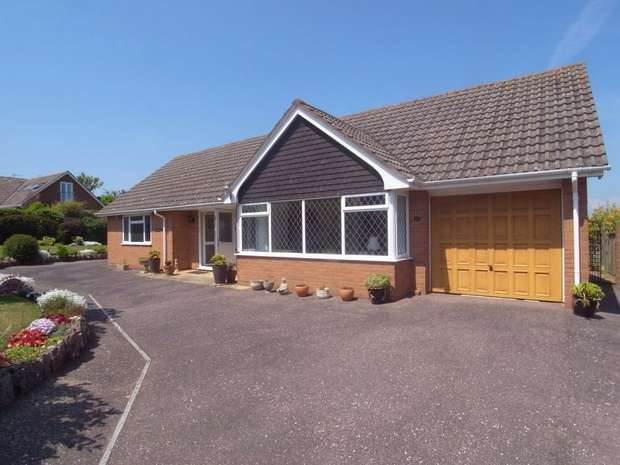 2 Bedrooms Detached Bungalow for sale in BUDLEIGH SALTERTON, Devon
