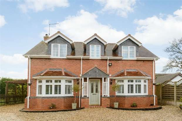 4 Bedrooms Detached House for sale in Bellhurst Lane, Wheaton Aston, Stafford