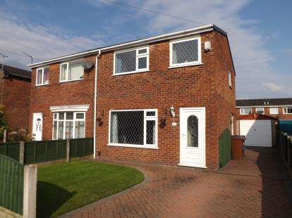 3 Bedrooms Semi Detached House for sale in Aldwych Drive, Lostock Hall, Preston, PR5