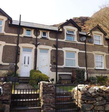 3 Bedrooms Terraced House for sale in New Tanrhiw, Beddgelert, Caernarfon, Gwynedd, LL55