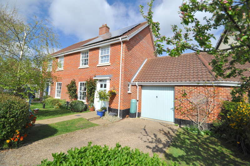 3 Bedrooms Semi Detached House for sale in Aldergrove Close, Halesworth