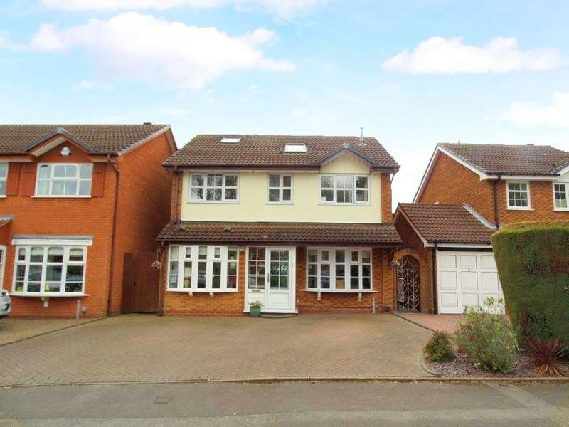 5 Bedrooms Detached House for sale in Blaythorn Avenue, Solihull
