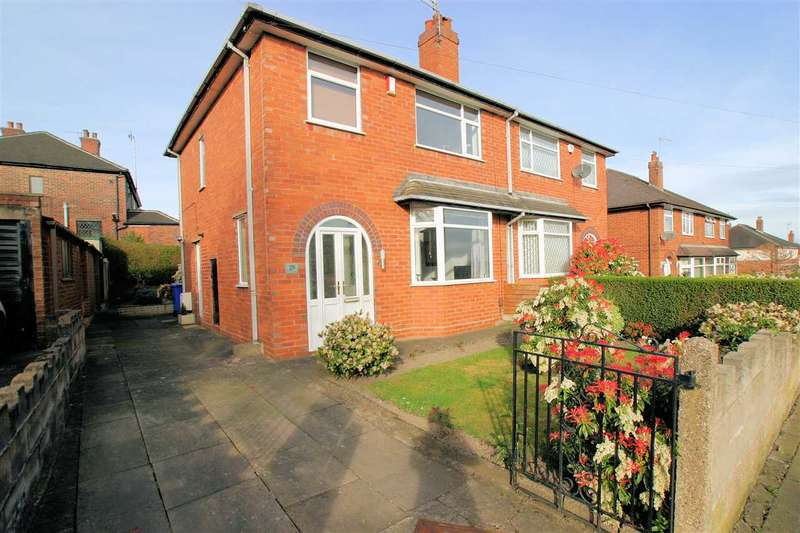 3 Bedrooms Semi Detached House for sale in Courtway Drive, Sneyd Green, Stoke on Trent