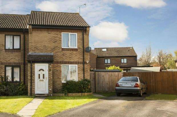 2 Bedrooms End Of Terrace House for sale in Larchside Close Spencers Wood Reading