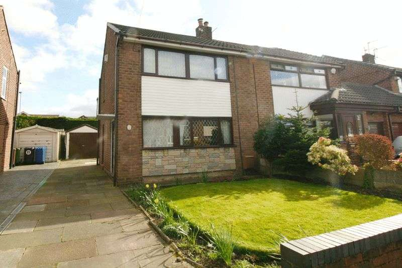 3 Bedrooms Semi Detached House for sale in Glendale Road, Mosley Common Worsley Manchester