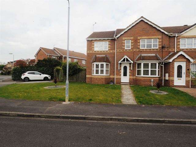 4 Bedrooms End Of Terrace House for sale in Navigation Way, Victoria Dock, Hull, HU9 1SW