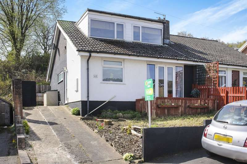 3 Bedrooms Semi Detached Bungalow for sale in Westwood Drive, Treharris