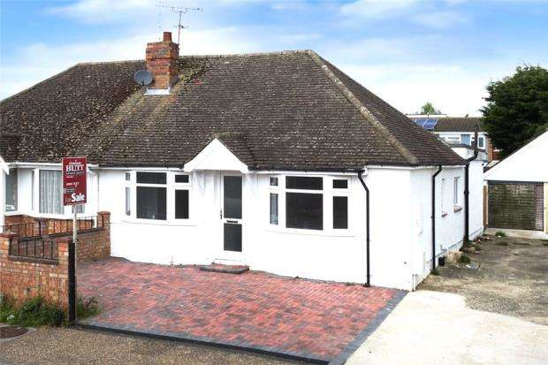 3 Bedrooms Semi Detached Bungalow for sale in Courtwick Road, Littlehampton, West Sussex, BN17