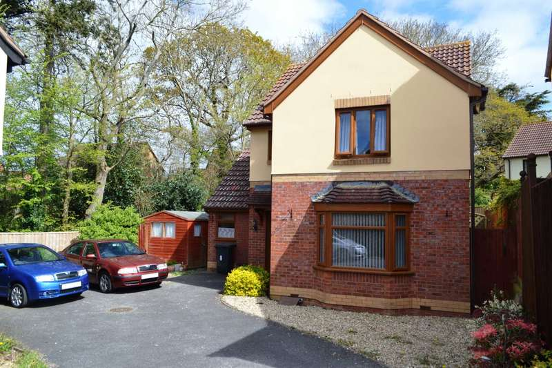 4 Bedrooms Detached House for sale in Wordsworth Close, Exmouth