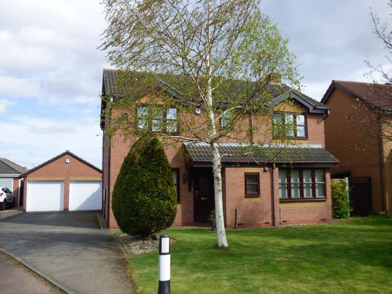4 Bedrooms Detached House for rent in Hickton Drive, Chilwell, Nottingham, NG9 6DD