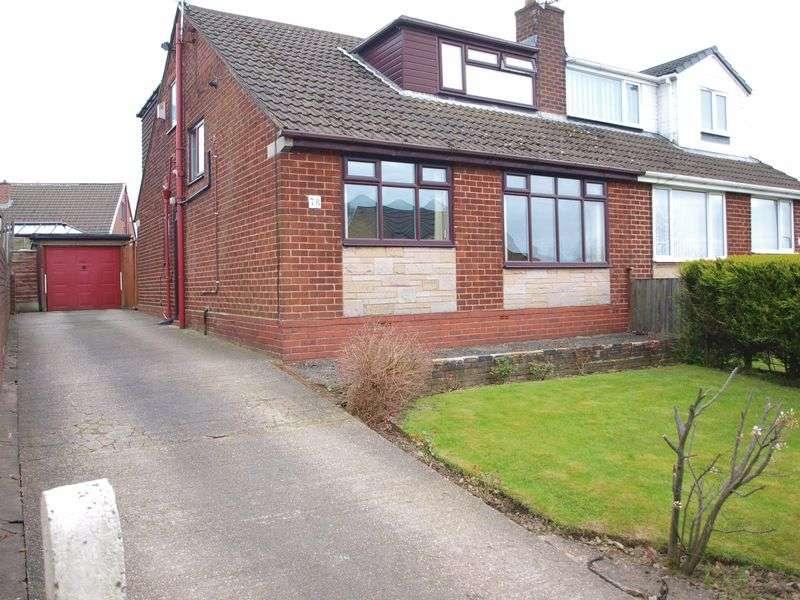 4 Bedrooms Semi Detached Bungalow for sale in Kiln Lane, Milnrow, OL16 3JN